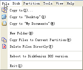 file options